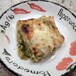 Travel Recipe: Pesto Lasagna