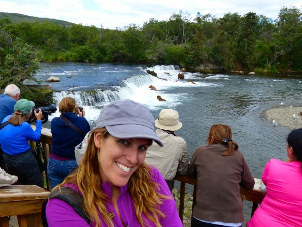Brooks Falls- me and the bears!