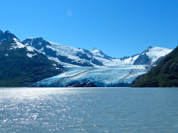 Portage Glacier- far away view