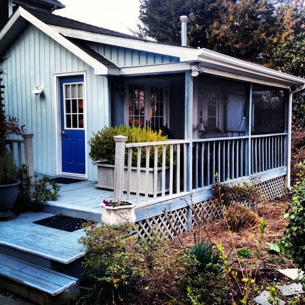 Back Creek Inn- cottage exterior instagram