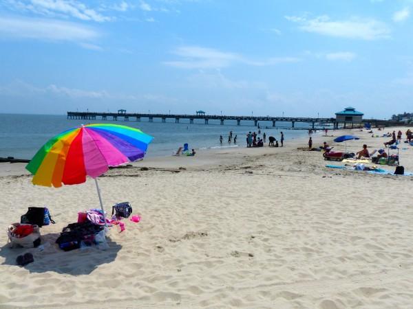 Buckroe Beach- wide shot