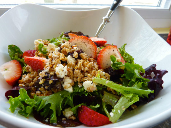 Lotus Kitchen- combo salad