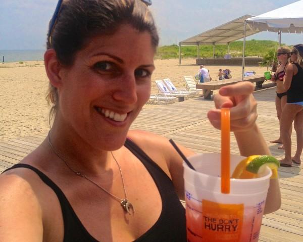 Paradise Ocean Club- me with bucket