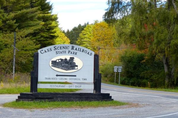 Cass Railroad- sign