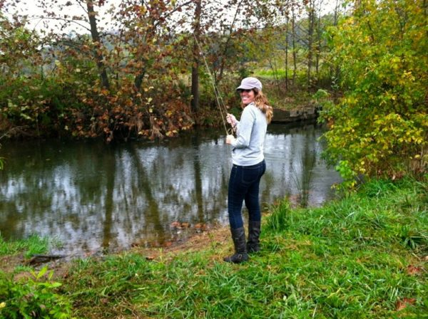 Packed suitcase harrisonburg more than a college town for Mossy creek fly fishing