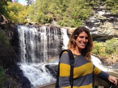 Me at Blackwater Falls