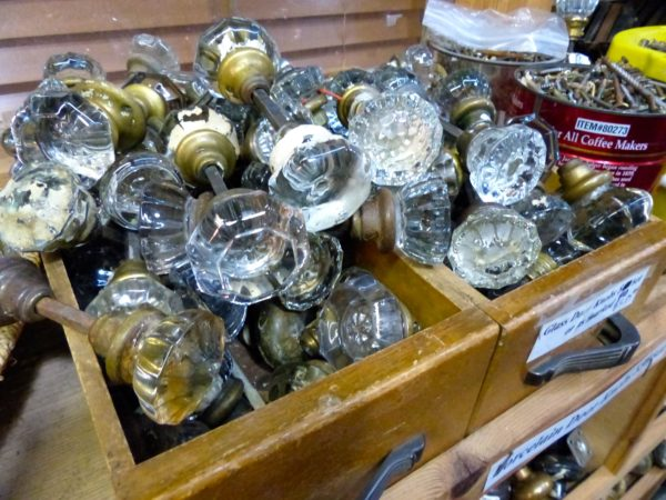 Black Dog Salvage- doorknobs