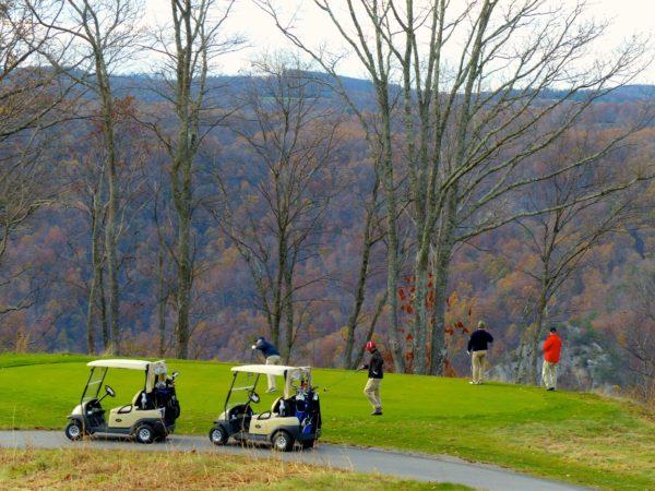 Primland- golfers