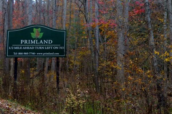Primland sign 3