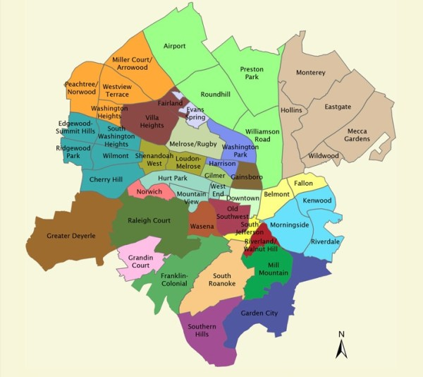 Roanoke Neighborhoods