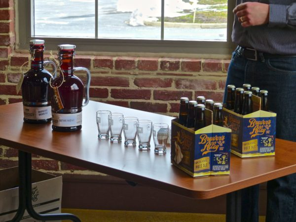 Monocacy Brewing tasting