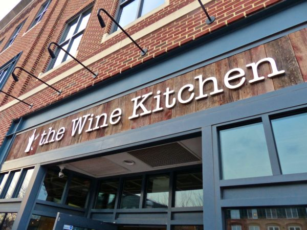 Wine Kitchen sign