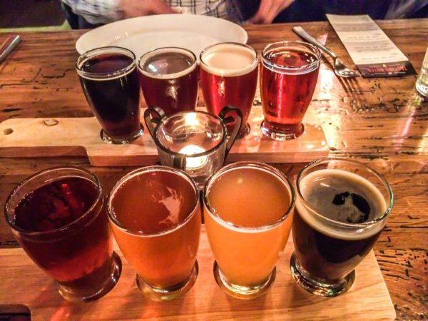 City Tap House- Beer Tasting