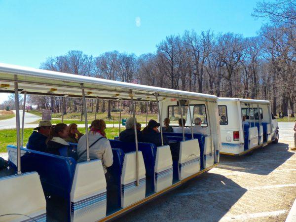 National Arboretum- tram