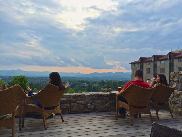 Grove Park Inn- sunset terrace 2