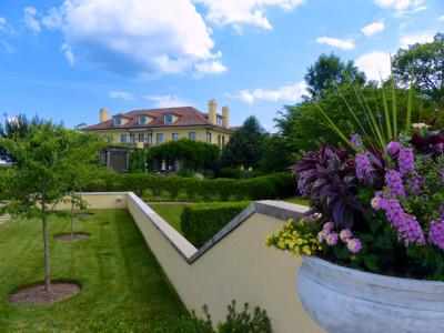 Keswick Hall- Villa Crawford view from afar