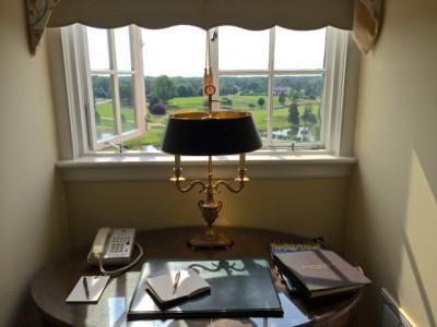 Keswick Hall- room- reading table 2