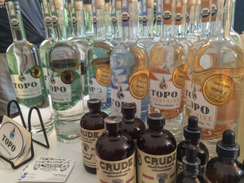 Lambstock-- TOPO spirits and Crude bitters