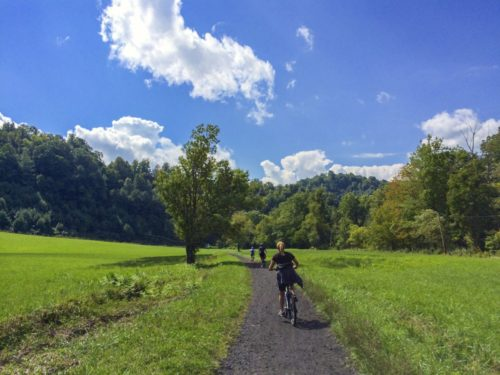 Damascus- Creeper Trail- biking