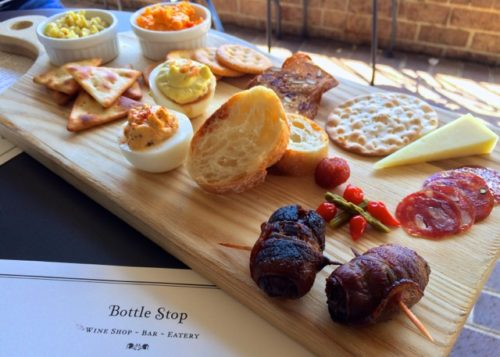 Day Trip to Occoquan- Bottle Shop nibbles