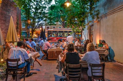 What Are The Best Outdoor Eating Restaurants Around Virginia Beach