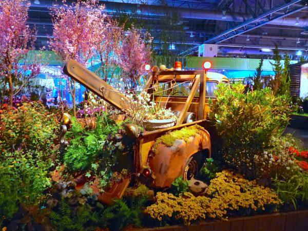 Philadelphia- Philadelphia Flower Show- Cars