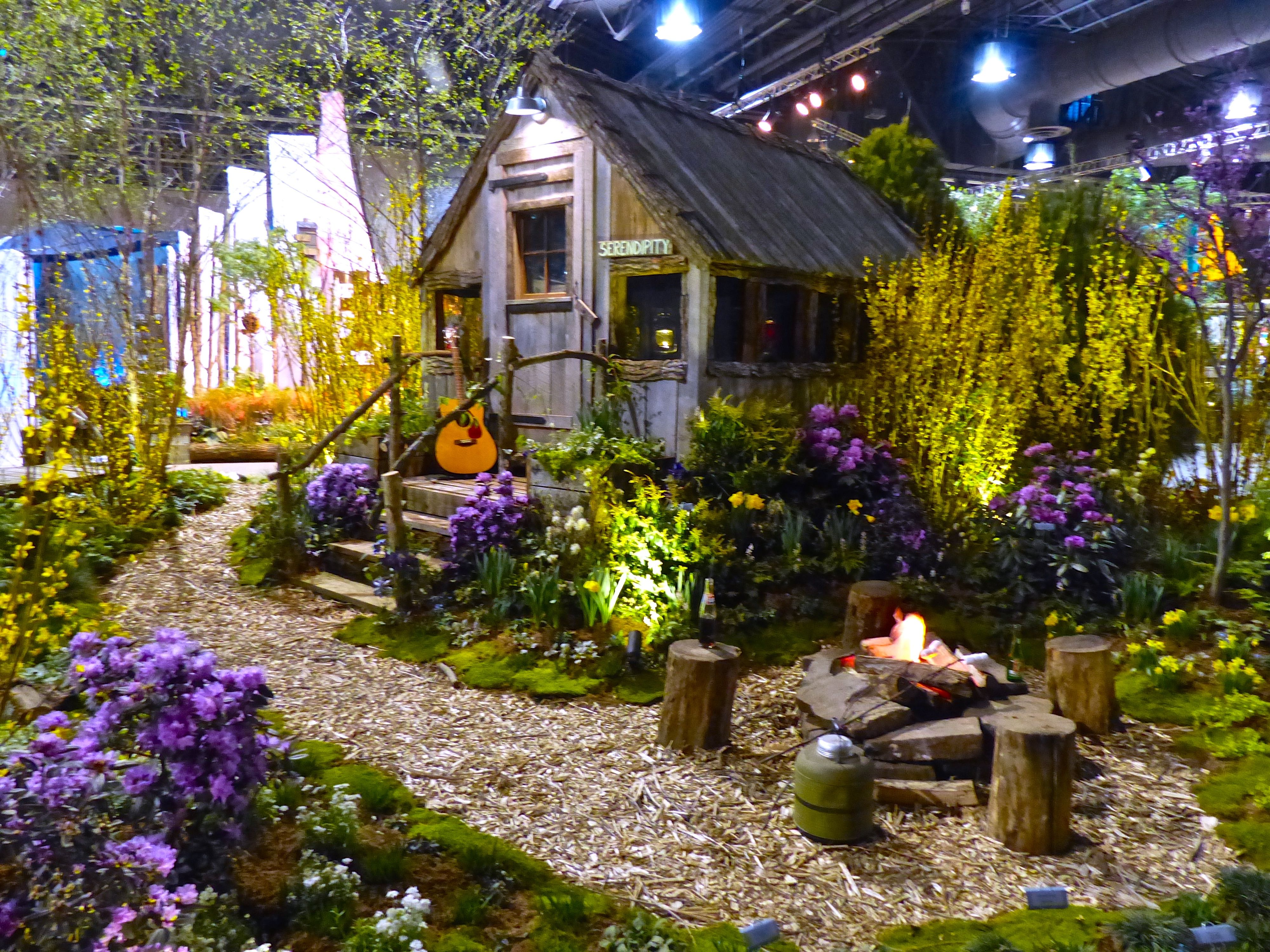 Packed Suitcase Out And About The 2015 Philadelphia Flower Show