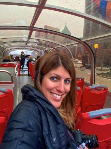 2 Days in Philadelphia - Big Bus Selfie 3