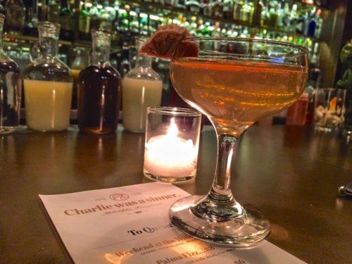 2 Days in Philadelphia - Charlie Was A Sinner- Cocktail
