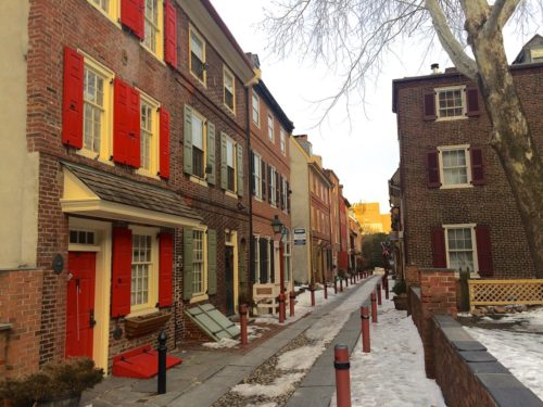 2 Days in Philadelphia - Elfreth's Alley