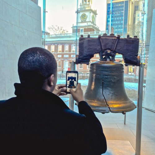 2 Days in Philadelphia - Liberty Bell- photo op