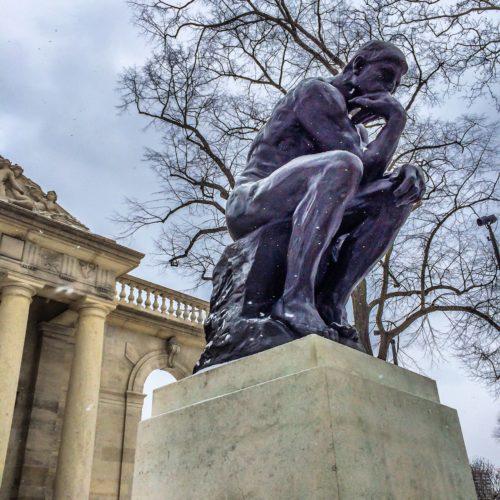 2 Days in Philadelphia - Rodin Museum- Thinker 2