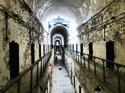 Philadelphia- Eastern State Penitentiary- view from above