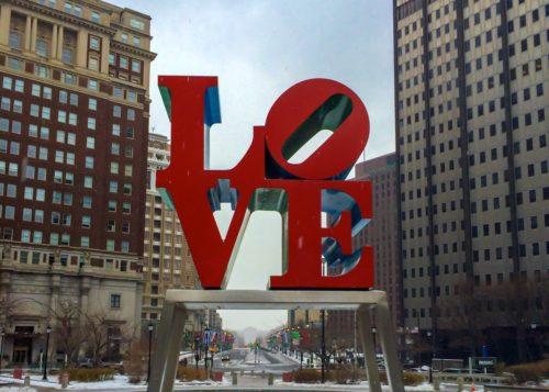 2 Days in Philadelphia- LOVE statue 2