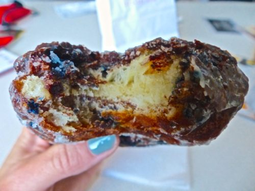 Philadelphia- Best Things to Eat at Reading Terminal Market- Beiler's Blueberry Fritter