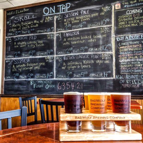 DC Day Trip to Manassas- BadWolf Brewing Company