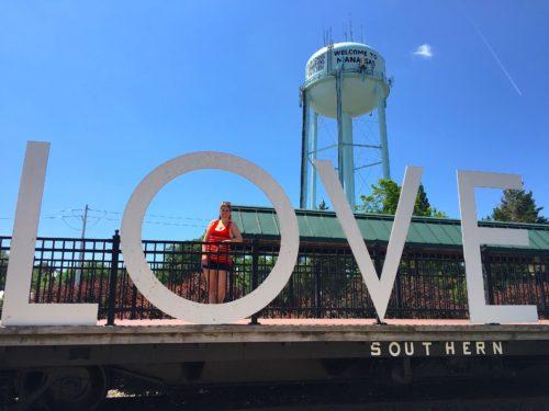 DC Day Trip to Manassas-  LOVE statue