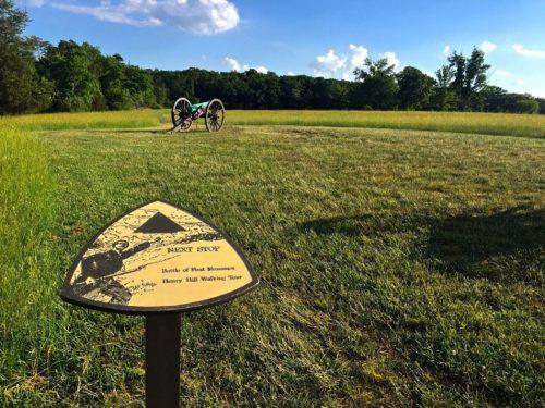 DC Day Trip to Manassas- Manassas Battlefield- Henry Hill Walking Trail