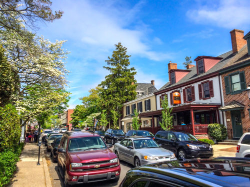 Bucks County- Doylestown neighborhood