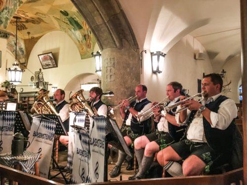 Munich- Hofbrauhaus band
