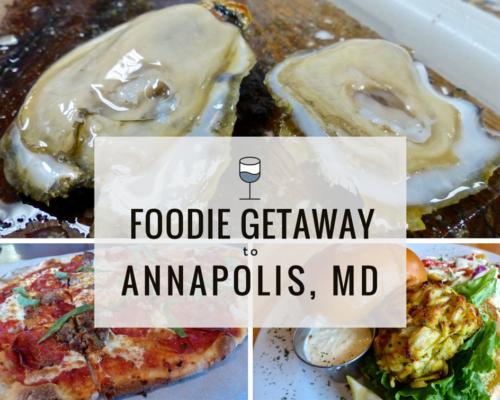 Foodie Getaway to Annapolis-2