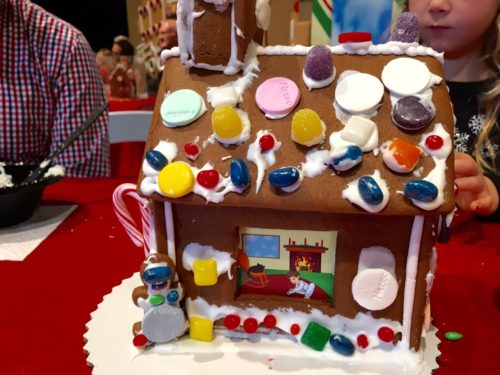 Holidays at the National Harbor- Gingerbread House Decorating 2