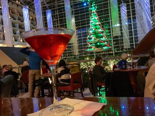 Gaylord National- Belvedere Bar Cocktail